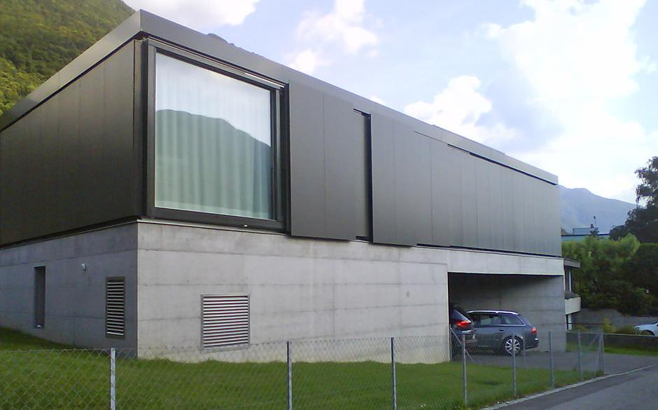Carpenteria alpina progetti - Facciata esterna casa ...