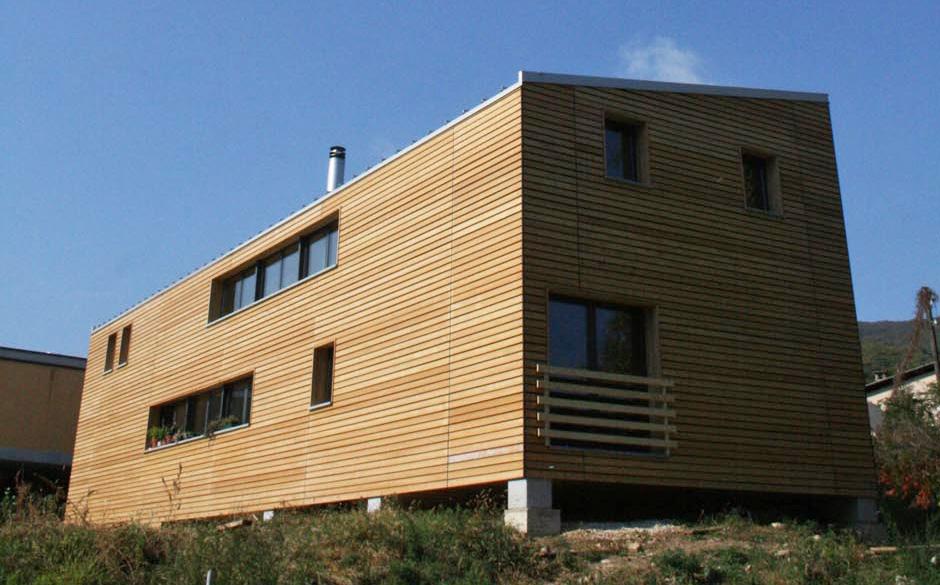 Rivestimento Casa In Legno : Carpenteria alpina progetti